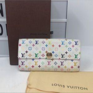 SoldLouis Vuitton multicolore Monogram Long wallet